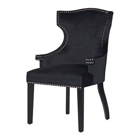Chic Studded Dining Chair